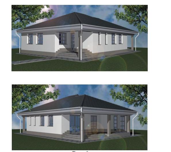 Mályiban eladó, leköthető új építésű családi ház 3 szoba nappalival 750 nm telken.