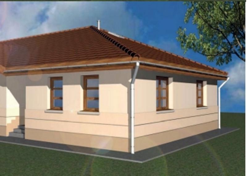 Kistokajban leköthető, eladó 100nm 3 szoba nappalis kulcsrakész ház!